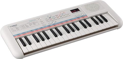 Yamaha Remie PSS-E30 – Clavier Mini Touches – Clavier d'initiation léger et portable pour enfants – Avec sonorités et...