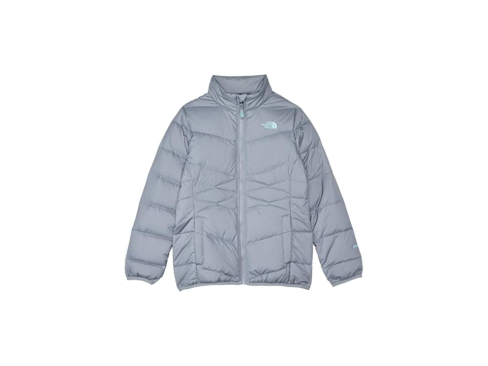 8128b627a7e5 The North Face Kids Andes Down Jacket (Little Kids Big Kids) (Mid Grey) Girl s  Coat