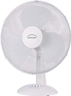 Domair dk30ii Ventilador de mesa oscilante, color blanco, blanco, DK40II 45 wattsW