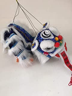 My Lucky Chinese New Year Lion Dragon Dance Puppet Blue
