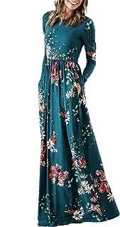 dressy floral maxi dress