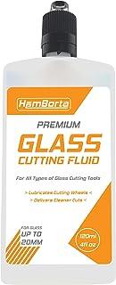 HemBorta® Glazen snijolie 120ml 4 Fl Oz - Professionele glassnijder Olie voor glassnijders & Fles Cutter Glijmiddel, Gebru...