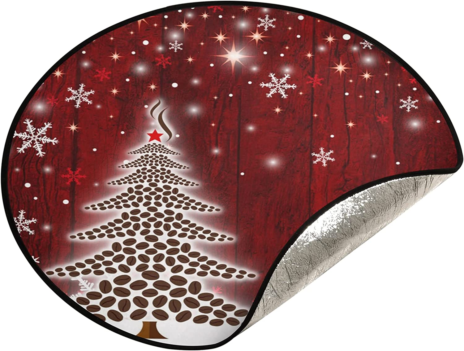 xigua 28.3 Inch Christmas Max 87% OFF Tree Stand Merry trust Mat -