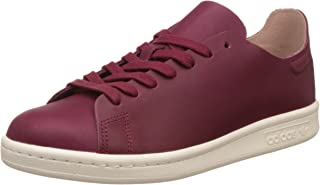 adidas Originals Womens Stan Smith Nuud Low Rise Lace Up Trainers - Red - 4.5