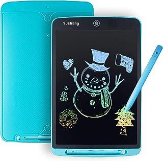 YUSHANG LCD-schrijftablet, 12 inch kleurrijke kinderen LCD-tekenbord, draagbare LCD-schrijfbord, slank LCD-notitieblok, LC...
