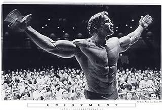 Butler Mr Olympia Enjoyment Madison Square Garden Arnold Schwarzenegger Poster 24x36