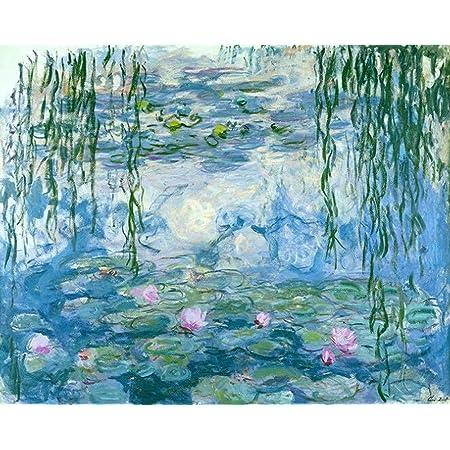 Van-Go Paint-By-Number Kit Coup de vent by Claude Monet