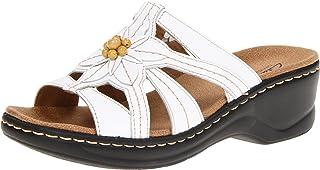 76b563b2a Amazon.com  CLARKS - Slides   Sandals  Clothing