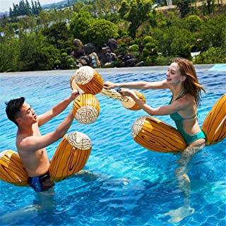 UAE2U 4pcs/set Inflatable Floating Row Toys-Swimming Pool Toys-Adult and children pool party games set-gladiator pool batt...