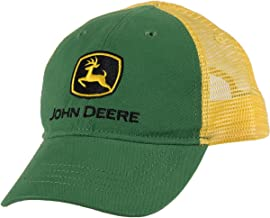 John Deere Boys' Trademark Trucker Ball Cap