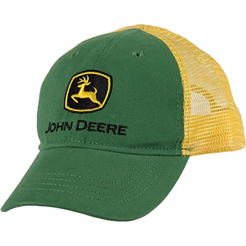 c85c6668207 John Deere Boys  Trademark Trucker Ball Cap
