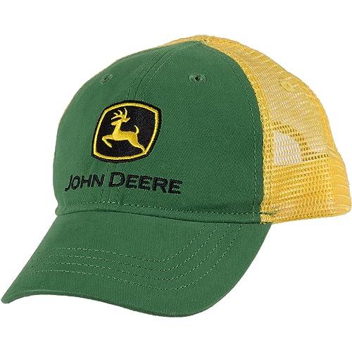 9df4297bb4122 John Deere Boys  Trademark Trucker Ball Cap