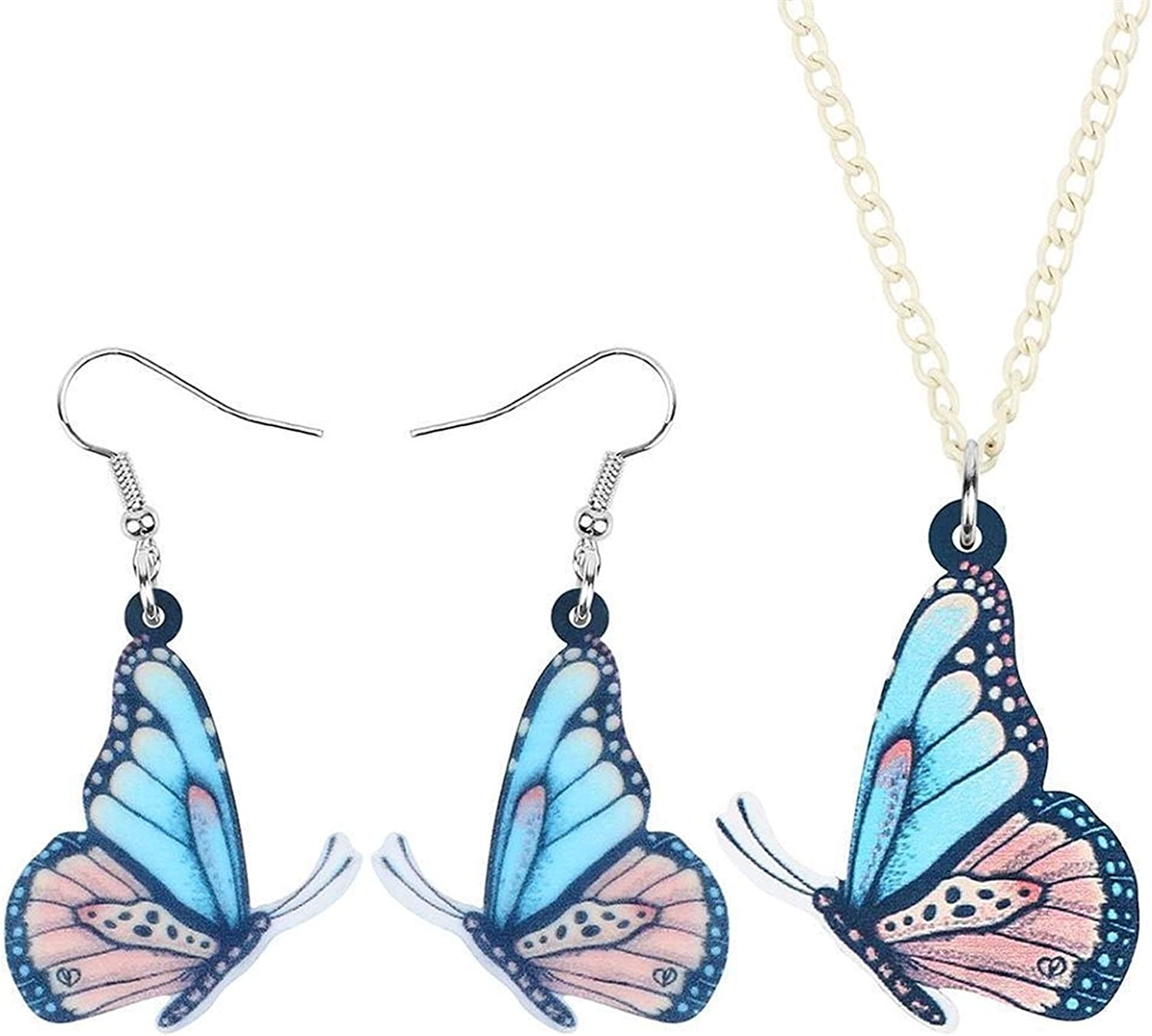 Necklace Acrylic Branded goods Footed Jewelry fo Animal Max 84% OFF Earrings Sets