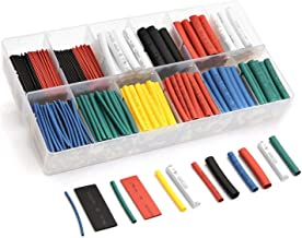 532pcs Heat Shrink Tubing innhom Heat Shrink Tube Wire Shrink Wrap UL Approved Ratio 2:1 Electrical Cable Wire Kit Set Long Lasting Insulation Protection, Safe and Easy, Eco-Friendly Material