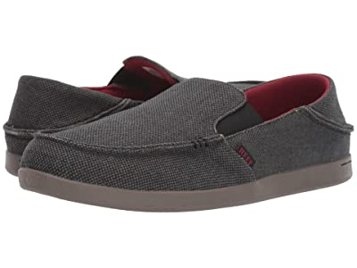 Reef Bounce Matey (Black/Red/Grey) Men