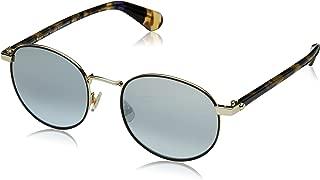 Kate Spade Round Sunglasses For Women - Grey Lens, Adelais/S-Wr950Go, 140 mm
