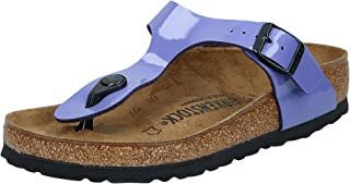 Birkenstock Gizeh, 11996241031 Womens Fashion SANDAL, Red (Patent Bordeaux 1013073), 5 UK (38 EU),BKGIZE-1013073