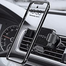 Mpow Gravity Auto-Clamping Car Mount, Hands-Free Car Phone Holder, One-Hand Operation, Auto-Lock, Auto-Release for iPhone 11Pro/11/XS Max/XS/Xr/X/8S/8/7/6 Plus, Galaxy S10/S9/S8, P20, Nexus, etc