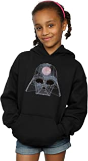 Star Wars niñas Geometric Darth Vader Capucha