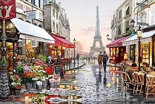 21secret 5D Diamond Diy Painting Full drill Handmade Eiffel Tower Paris Street lovers Cross Stitch Home Decor Embroidery Kit