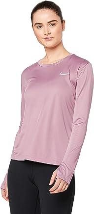 Nike W NK Thrmasphr Elmnt Top Hz2.0 T Shirt à Manches