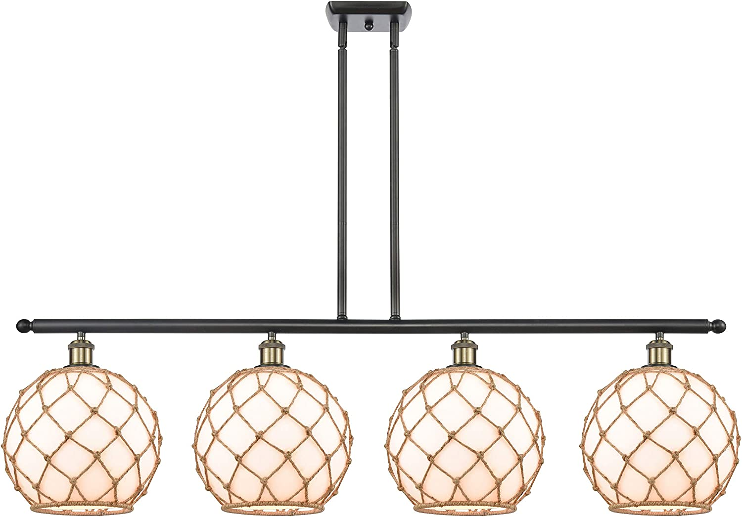 Innovations 516-4I-BAB-G121-10RB-LED Large Farmhouse Rope 3 Sale special price Isla Limited price sale
