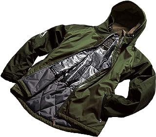 マック(Makku) ジャケット 中綿ジャケット メンズ レディース 防水 防寒 アーミーグリーン Mサイズ AS-3720