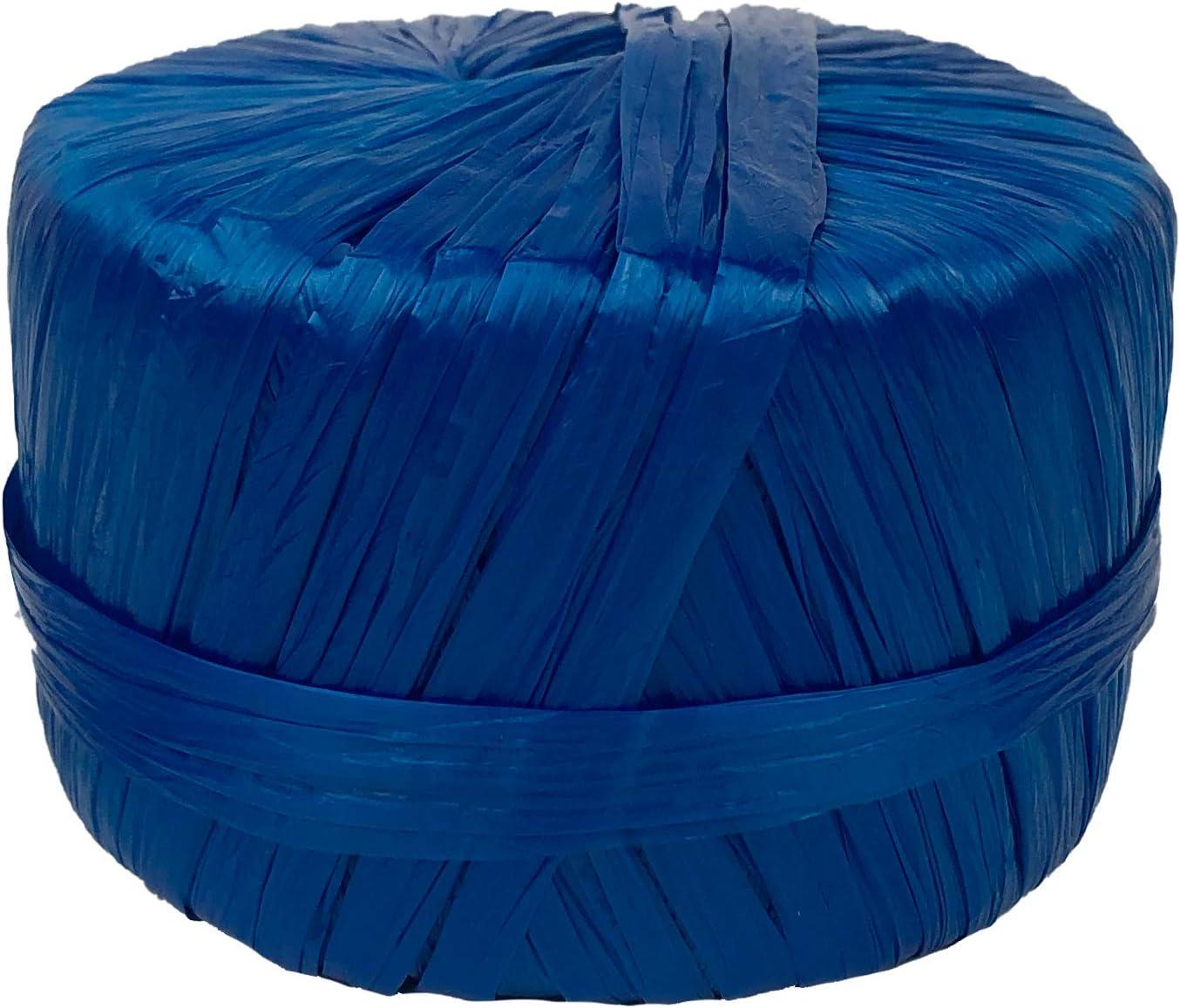 Dtails Plastic Raffia Ribbon Twine 1//4 Wide x 194 Yards Long. Black