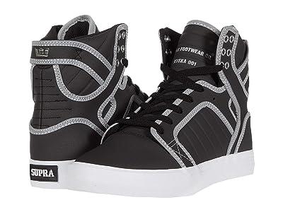 Supra Skytop (Black/Reflect/White) Men