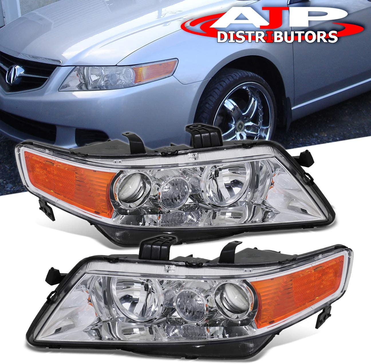 AJP Distributors For Acura TSX Lig Head お得なキャンペーンを実施中 CL9 Headlights Projector 大人気