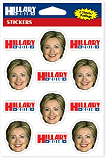 Beistle Womens 2016 Hillary Clinton Democratic Candidate Stickers 24 ct. - 1/pkg.