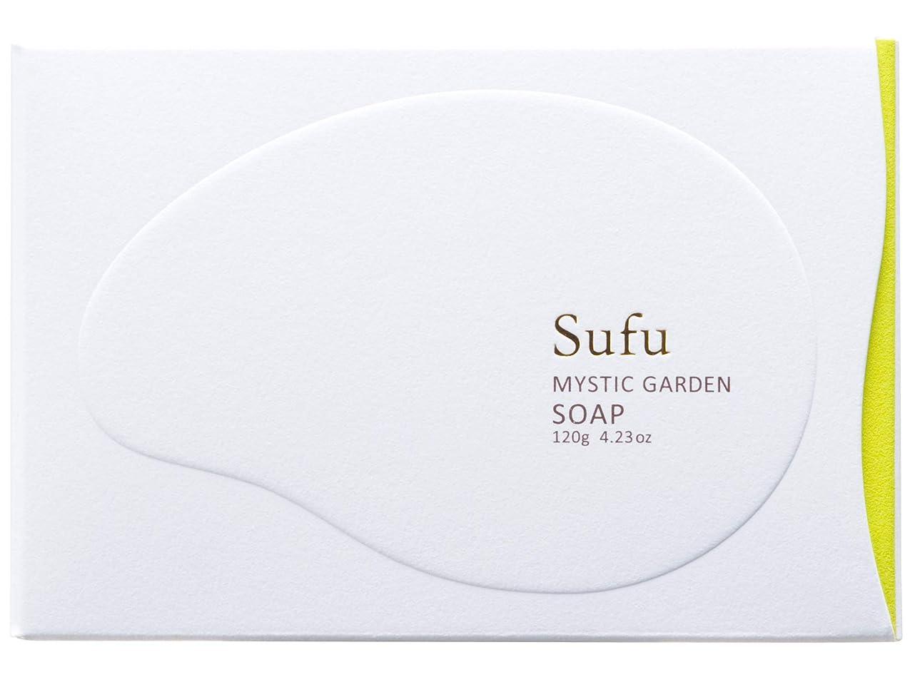 の中で切り離すアカウントペリカン石鹸 Sufu ソープ ミスティックガーデン 120g