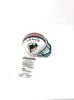 dan marino signed mini helmet