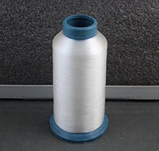 1 Spool 4380 yards 0.1mm Clear White Quilter`s invisible 100% nylon monofilament thread,Monofilament Thread, Clear Invisible Transparent 100% Nylon,Quilting Thread~