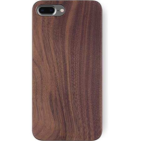 WoodLeather iPhone 8 plus Case LTR-BR-I8P iPhone 8 plus Leather Case iPhone 8 plus Wood Case