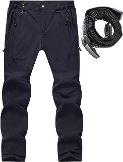 Rdruko مردان در فضای باز سبک وزن ضد آب اسکی پیاده روی کوهنوردی صعود تاکتیکی باریک شلوار پشم گوسفند وجانوران دیگر