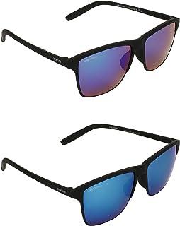 1a574163eb7a CREATURE UV Protected Wayfarer Unisex Sunglasses -(DOIT-003-004|Blue)