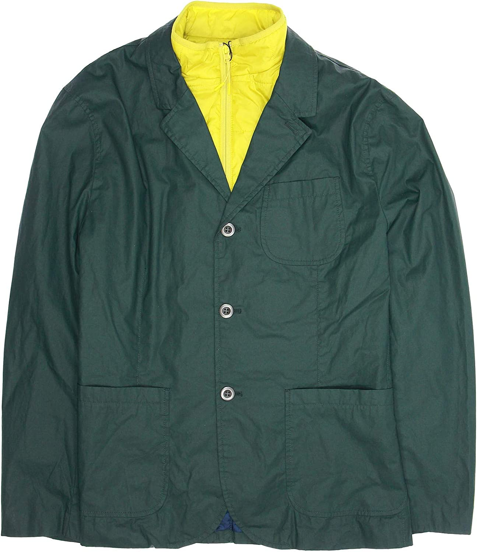 Tommy Hilfiger 'Off Grid' Men's Green Primaloft Insulated Blazer Jacket