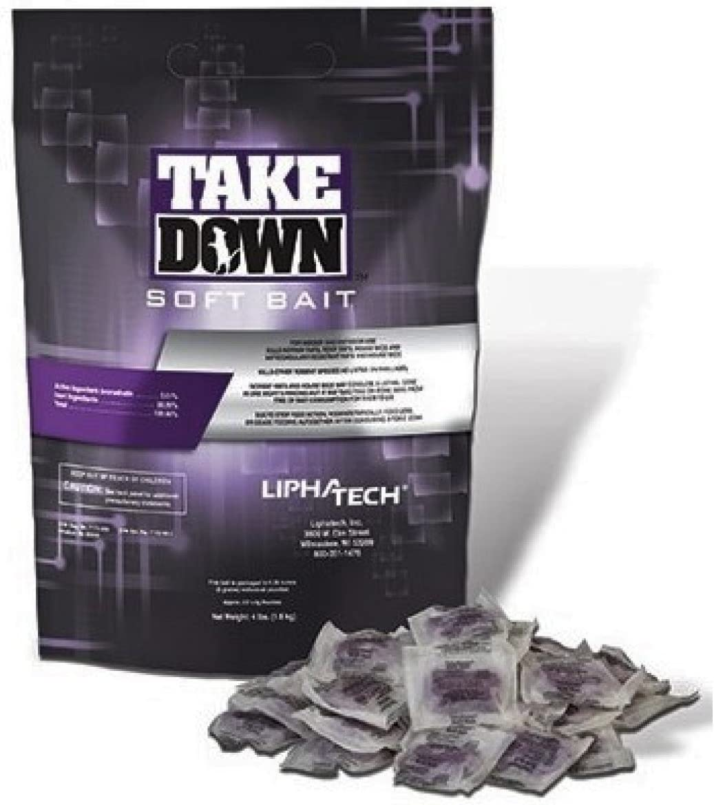 TakeDown Soft Fort Worth Mall Bait half Rodenticide lb BAG 4