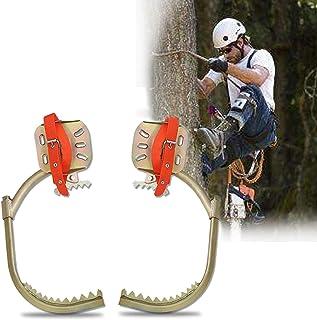 GBHJJ Halkfri stång klättring spikar, rostfritt stål träd klätterkrampor, elektriker fotspänne, rostskydd, slitstark, lätt...