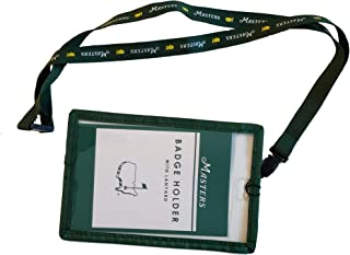 Official 2019 Masters Lanyard & Ticket Badge Holder Augusta National Golf Course