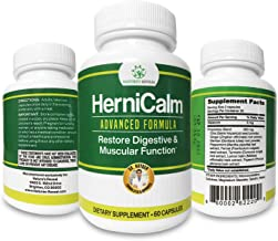 HerniCalm Dietary Supplement –– Better Digestion, Stronger Muscles, Better Sleep, and Less Discomfort Through Support of G...