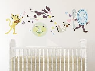 Sunny Decals Nursery Rhyme Fabric Wall Decal