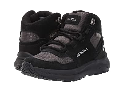 Merrell Kids Ontario 85 Waterproof (Little Kid/Big Kid) (Black) Kids Shoes