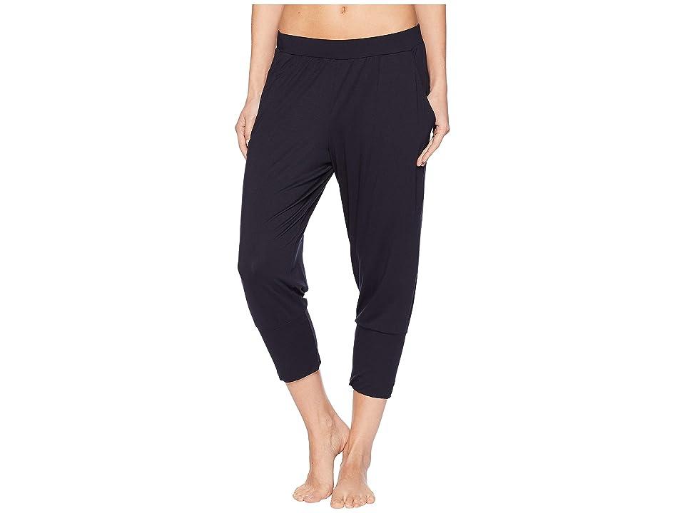 Hanro Yoga Crop Pants (Black) Women