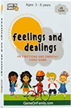 Feelings and Dealings: An Emotions and Empathy Card Game | Award-Winning | Therapy Games for Kids | Social and Emotional Skills Development | Feelings Flash Cards