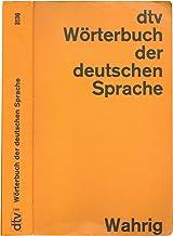 dtv Worterbuch Der Deutschen Sprache by Gerhard Wahrig - Paperback