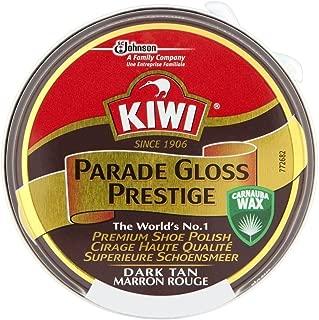 Kiwi Parade Gloss Prestige Shoe Polish - Dark Tan (50ml) キウイパレードグロスプレステージ靴磨き - ダークタン( 50ミリリットル)