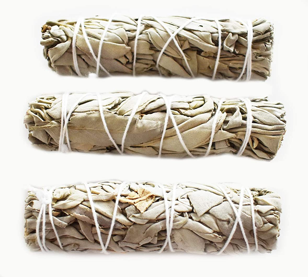 真珠のような外国人虎3つのセット( 3?)ホワイトセージMini Sticks for Smudging Ceremony正エネルギー& Purification