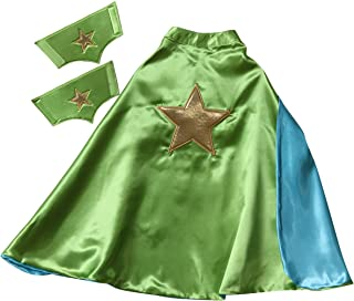 Reversible 61 cm Star Cape & Puños (elegir color)